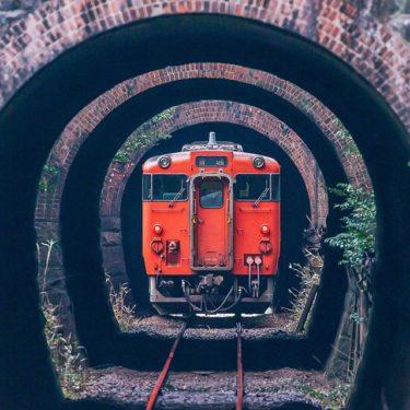 芸備線、三連トンネル