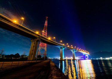 海田大橋(広島市南区向洋)